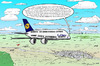 Cartoon: Airbus A380 Contest (small) by toonpool com tagged lufthansa,airbus380,airbus,plane,flugzeug,contest