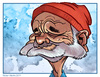 Cartoon: Bill Murray Caricature (small) by nolanium tagged bill,murray,caricature,steve,zissou,the,life,aquatic,nolan,harris,nolanium