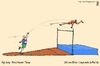 Cartoon: high jump (small) by raim tagged games olympics