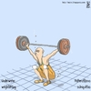 Cartoon: Underwater weightlifting (small) by raim tagged weightlifting underwater olympics games