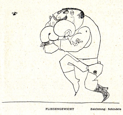 Cartoon: Fliegengewicht (medium) by Zotto tagged brrr,catch,match