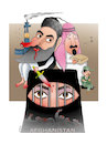 Cartoon: Taliban-US Agreement! (small) by Shahid Atiq tagged afghanistan