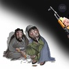 Cartoon: Unemployment and ISIS (small) by Shahid Atiq tagged 0216