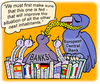 Cartoon: the common nest (small) by gonopolsky tagged europe,banks
