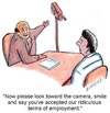 Cartoon: interview (small) by efbee1000 tagged work,office,interview,employment