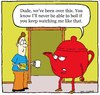 Cartoon: teapot (small) by sardonic salad tagged teapot