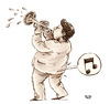 Cartoon: Music (small) by beto cartuns tagged puff