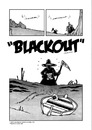 Cartoon: Blackout (small) by stewie tagged death,tod,meer,sea,boat,boot,ship,schiff,darkness,dunkelheit,end,ende