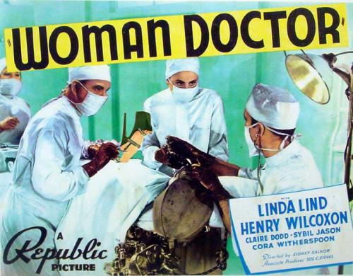 Cartoon: WOMAN DOCTOR mit Linda Lind (medium) by Glühende Liebe tagged woman,doctor,film,