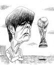 Cartoon: joachim loew (small) by javad alizadeh tagged joachim,loew,football,world,cup,soccer,germany,team,javad,cartoon