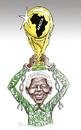 Cartoon: Mandela the real champion .... (small) by javad alizadeh tagged nelson,mandela,political,prisoner,world,cup,champion,hero