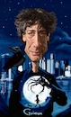 Cartoon: Neil Gaiman (small) by bpatric tagged neilgaiman,gaiman,coraline,americangods,author,cartoon,art,digital,fanart