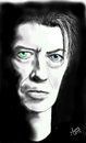 Cartoon: The Camaleon Bowie (small) by loboloco tagged cameleon,david,bowie