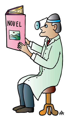 Cartoon: Doctor (medium) by Alexei Talimonov tagged doctor,book
