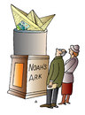 Cartoon: Noahs Ark (small) by Alexei Talimonov tagged noah,ark