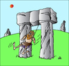 Cartoon: Stone Swing (small) by Alexei Talimonov tagged stone,swing