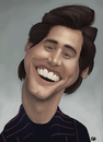 Cartoon: Jim Carrey caricature (small) by GRamirez tagged jim carrey caricature caricatura guillermo ramirez
