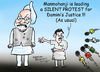Cartoon: silent Manmohan (small) by mangalbibhuti tagged mammohan,pm,rape,mangal,bibhuti,mangalbibhuti,upa,congress