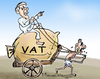 Cartoon: VAT (small) by mangalbibhuti tagged odisha,mangal,mangalbibhuti,vat,taxes,poor,people,naveenpatnaik