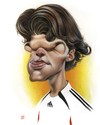 Cartoon: Michael Ballack (small) by achille tagged ballack