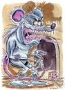 Cartoon: Rat (small) by Cartoons and Illustrations by Jim McDermott tagged rat scary animals