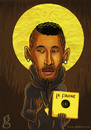 Cartoon: Pop Icons - La Fouine (small) by gilderic tagged gilderic,illustration,caricature,fouine,icon,pop,music,rap