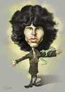 Cartoon: the lizard king morrison (small) by elidorkruja tagged jim,morrison