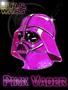 Cartoon: pink vader (small) by Suat Serkan Celmeli tagged star wars