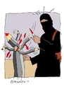 Cartoon: CharlieHebdo (small) by mitsobo tagged charliehebdo