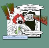 Cartoon: E10 (small) by Queenie tagged e10,bio,erneuerbar,energie,chaos