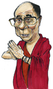 Cartoon: dalai Lama (small) by jean gouders cartoons tagged dalai lama jean gouders