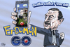 Cartoon: Erdomon (small) by jean gouders cartoons tagged erdogan,gülen,pokemon,go,coupe