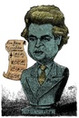 Cartoon: Geert Wilders (small) by jean gouders cartoons tagged wilders,extremist,dutch,holland,jean,gouders