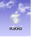 Cartoon: My next project - coming soon. (small) by Alf Miron tagged steve,jobs,apple,ipod,ipad,iphone,igod