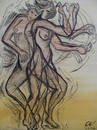 Cartoon: dance (small) by cornagel tagged dans,vrouw,sex,beweging