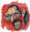 Cartoon: Danny Trejo (small) by lloyy tagged actors,movie,famous,caricatura
