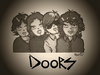 Cartoon: The Doors (small) by isacomics tagged isacomics isa comics music