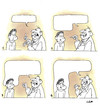 Cartoon: latitude of thoughts (small) by ilker yati tagged thoughts