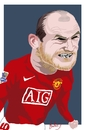 Cartoon: Bad Rooney! (small) by Bravemaina tagged rooney,england,manchester,united,soccer,football