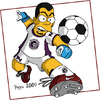 Cartoon: PEYSI SIMPSON (small) by ELPEYSI tagged lossimpsons futbol juego thesimpsons soccer cartoon