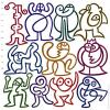 Cartoon: Rebellion Of Stickfigures (small) by constable tagged human,humor,fun,colors,group,graphic,vector,