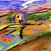 Cartoon: what color was my valley (small) by llumetis tagged nature