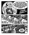 Cartoon: Trust me (small) by DanLucifer tagged italy,politics,berlusconi
