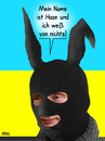 Cartoon: Frohes Fest (small) by besscartoon tagged russland,ukraine,ostern,eier,osterhase,aufstand,krieg,anexion,konflikt,besetzung,aktivisten,ostukraine,politik,gewalt,terror,bedrohung,hase,putin,unwissenheit,bess,besscartoon