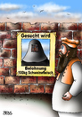 Cartoon: Gesucht wird (small) by besscartoon tagged religion,islam,burka,gesucht,wird,belohnung,schweinefleisch,bess,besscartoon