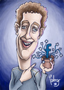 Cartoon: Zuckerbook (small) by Palmas tagged zuckerbook