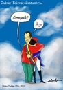 Cartoon: Hugo Chavez (small) by lucholuna tagged hugo,chavez,muerte