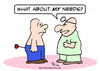 Cartoon: arrow doctor patient needs (small) by rmay tagged arrow,doctor,patient,needs