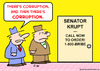 Cartoon: corruption call order (small) by rmay tagged corruption,call,order