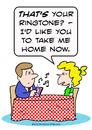 Cartoon: date home now ring town (small) by rmay tagged date,home,now,ring,town